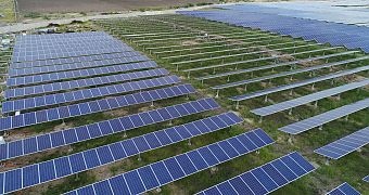 Provision of solar power forecasts for solar park in India