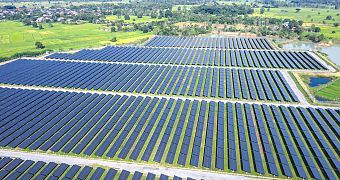 Solar park in Thailand: use of power forecasts