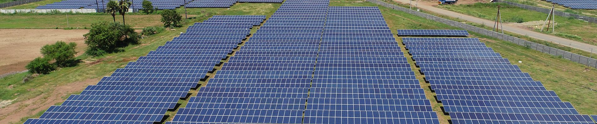 Solar park Kurnool. Copyright Greenko