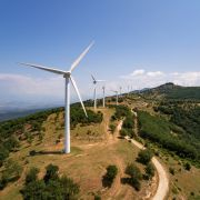 Wind energy plants in Greece