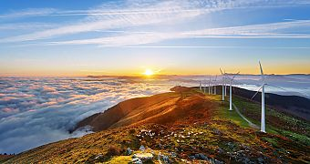 Onshore wind farm - renewable energies in South Africa