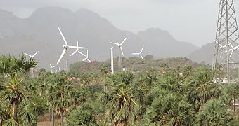 Wind energy plants