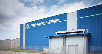 The energy supply for this cold store in Cuxhaven is controlled by the Virtual Power Plant.